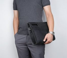 Document waist briefcase