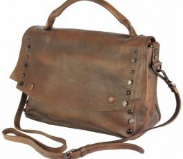 Natalina leather Messenger bag
