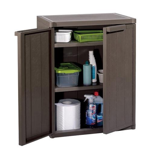 Шкафче-за-складирање-дрвен-ефект-65x45x88