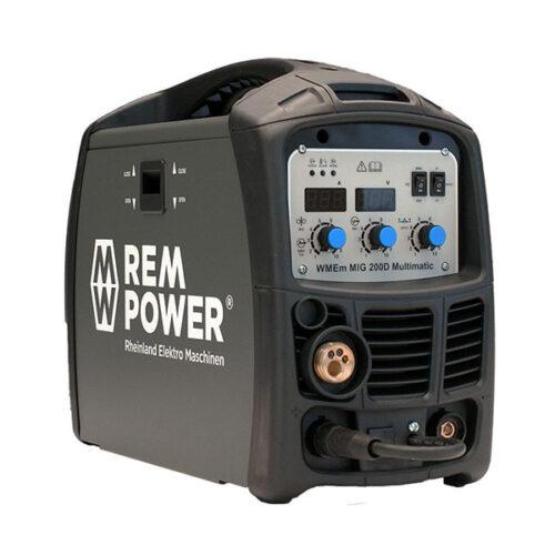 Инвертерен апарат за заварување REM WMEm MIG 200D