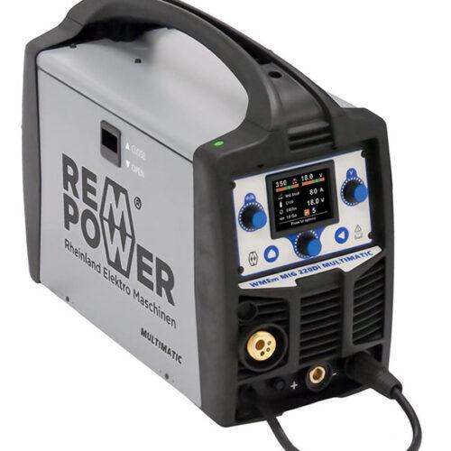 Инвертерен апарат за заварување REM WMEm MIG 220Di