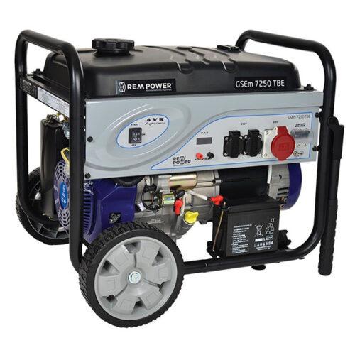 Агрегат за струја REM GSEm 7250 TBE