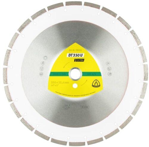 Дијамантски диск за градежни материјали Klingspor DT 350 U