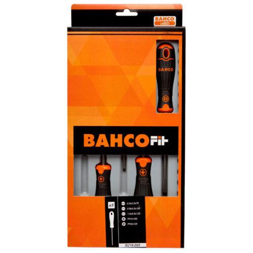 Сет од 5 шравцигери Bahco Fit B219.005