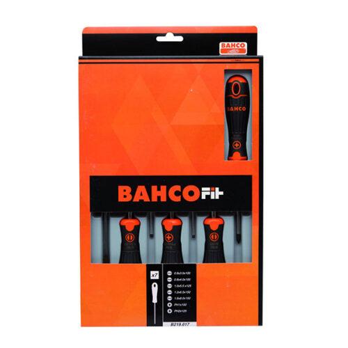 Сет од 7 шравцигери Bahco Fit B219.017
