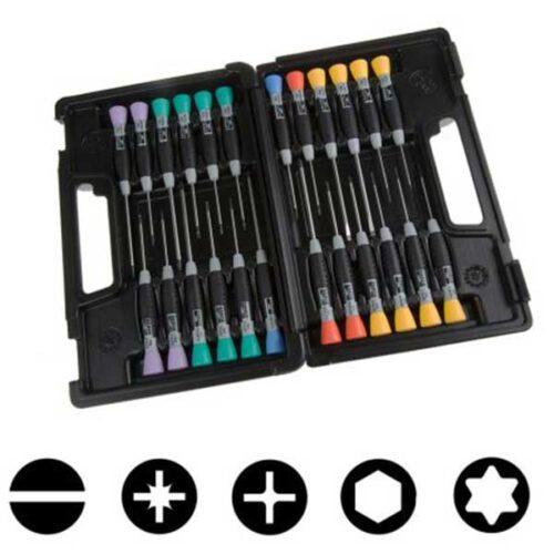 Сет од 24 прецизни шрафцигери BAHCO 706-5