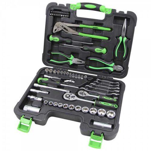 Гарнитура алати Iskra ERO 65 со 65 парчиња во куфер