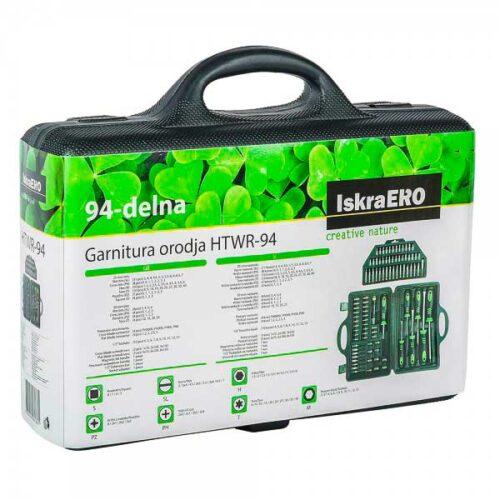 Сет шрафцигери и додатоци со 94 парчиња ISKRA ERO HTWR-94