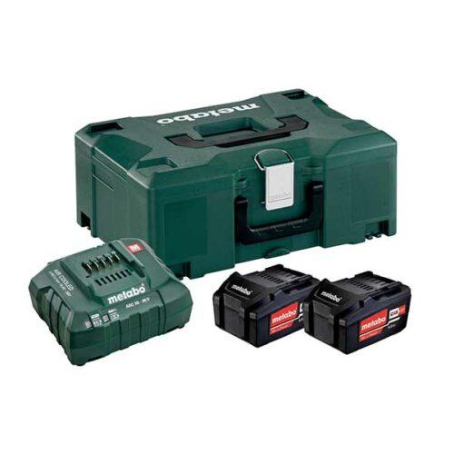 Батериски сет METABO BASIC SET 2 X 4.0 AH