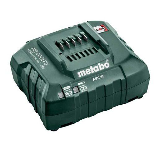 """Полнач за батерии METABO """"AIR COOLED"""" ASC 55, 12-36 V"""