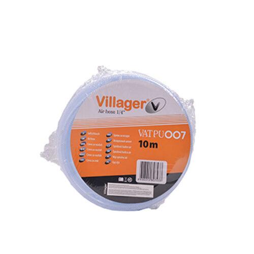 Црево за воздух со конектор 10м, 15Br VILLAGER VAT PU 007