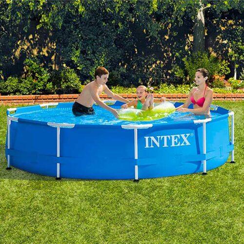 INTEX Базен со конструкција 305 x 76 cm и филтер пумпа