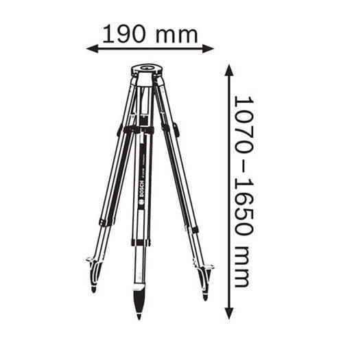 Градежен статив за ласер Bosch BT 170 HD