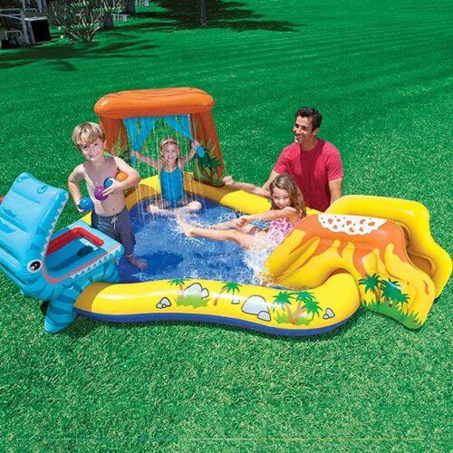 INTEX детски базен DINOLAND 249x191x112 cm