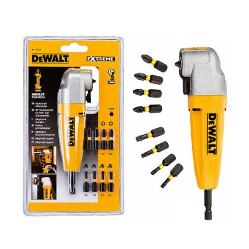 Аголен адаптер со сет 9 бита DeWALT Extreme Impact Torsion