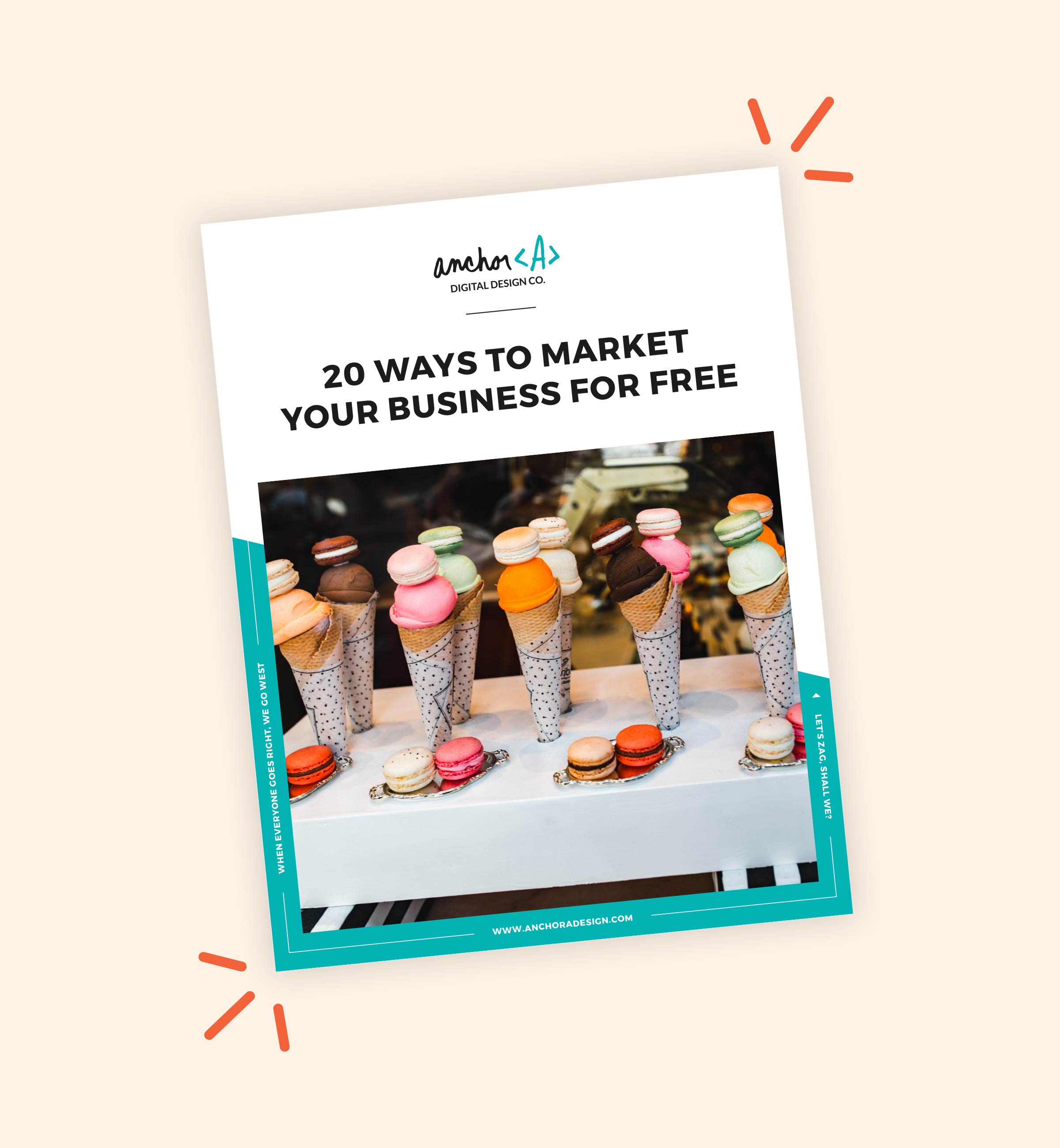 Freebie: 20 Ways to Market Your Business for Free