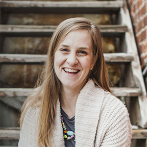 Amanda Olson, owner of Anchor ‹A› Digital Design Co.