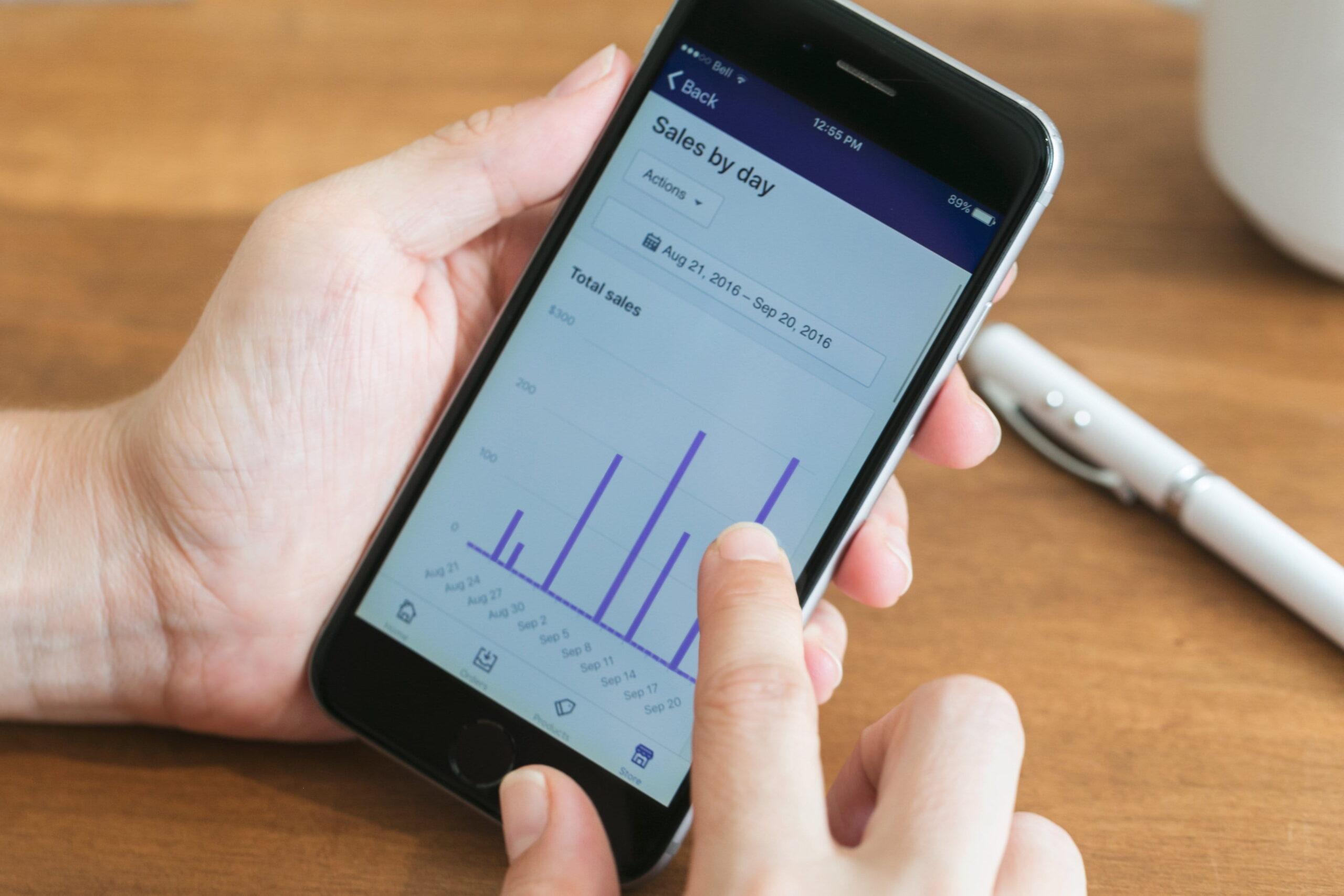 mobile data dashboard