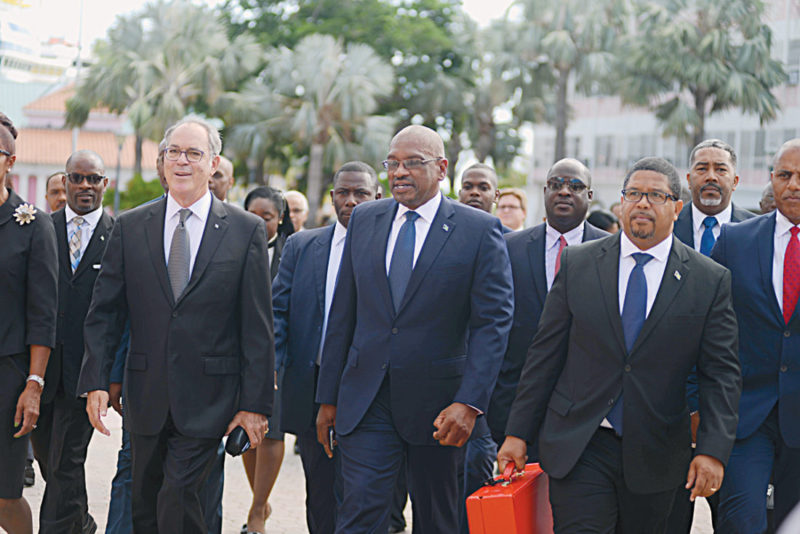 Cabinet Walking to House of Assembly