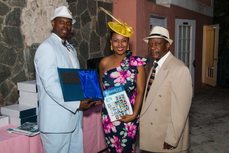 Rogan Smith receives award