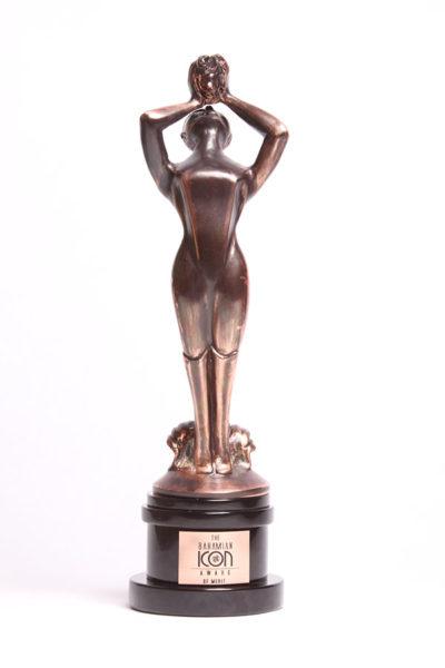 Bahamas Icon Award statue