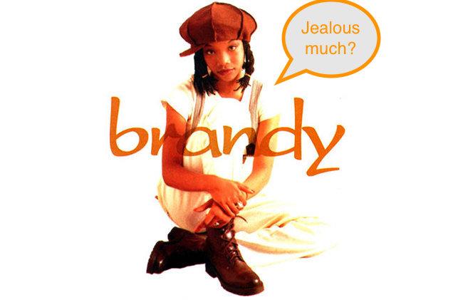Brandy Norwood 1994 Album Cover