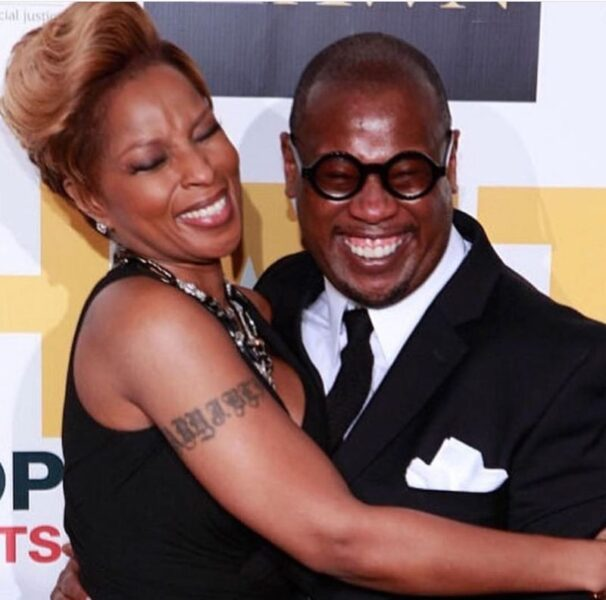 Photo/ Singer Mary J. Blige and Andre Harrell.