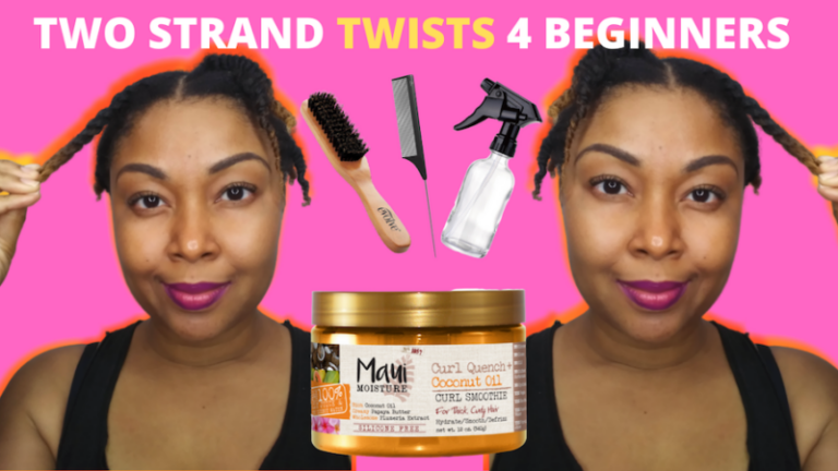 How To Two Strand Twist