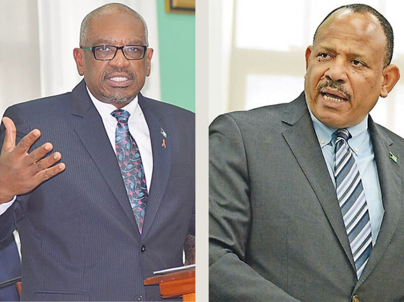 Dr. Hubert Minnis and Dr. Duane Sands both address The Bahamas House of Assembly