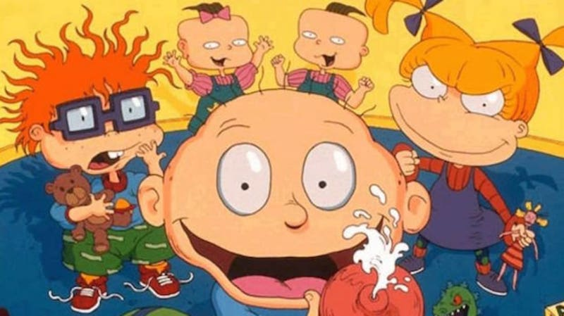 One of the most popular cartoons of the 1990s, Rugrats. Chernecia Campbell, a Bahamian animator says she hopes to create her own animated series in the future.
