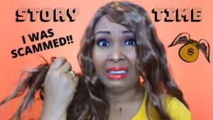 This Bahamian Gyal blogger, Rogan Smith shows wears ugly wig from online company that scammed her