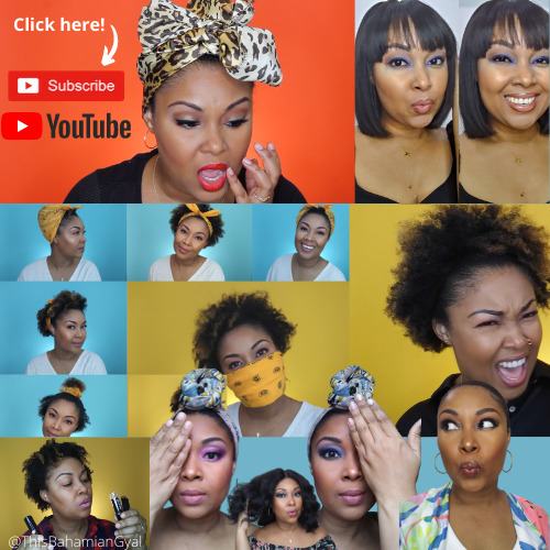 The Bahamian Gyal YouTube Subscribe Button