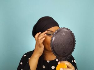 This Bahamian Gyal blogger Rogan Smith looks in the mirror and makes adjustments.