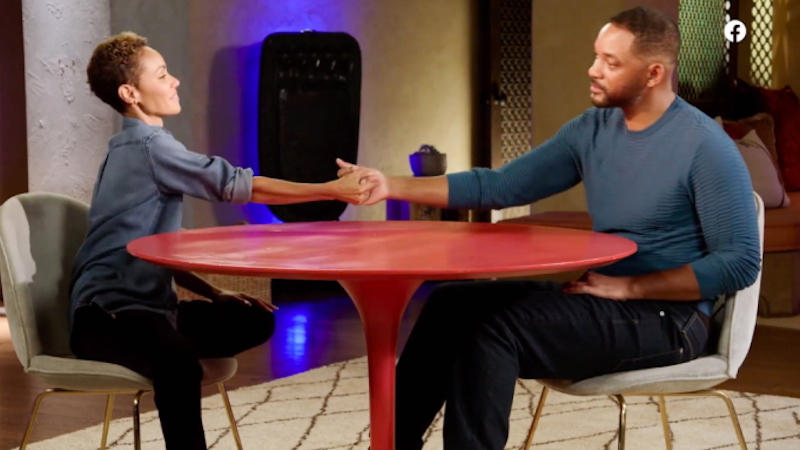 Will Smith and Jada Pinkett Smith discuss her affair during an episode of Red Table Talk