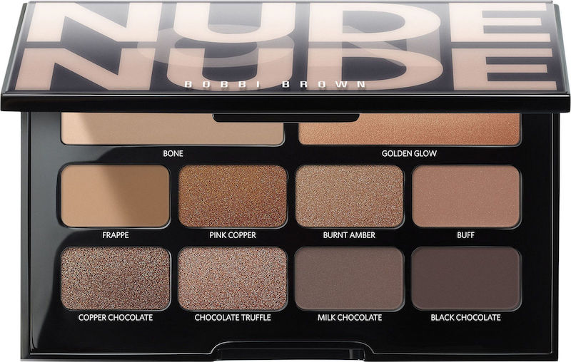 This Bahamian Gyal blogger and YouTuber Rogan Smith used this Bobbi Brown Nude on Nude palette to get her chocolate eyeshadow look.