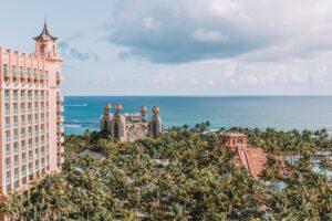Image of Atlantis hotel on Paradise Island in The Bahamas