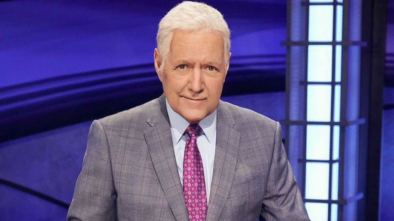 Photo of longtime Jeopardy host, Alex Trebek