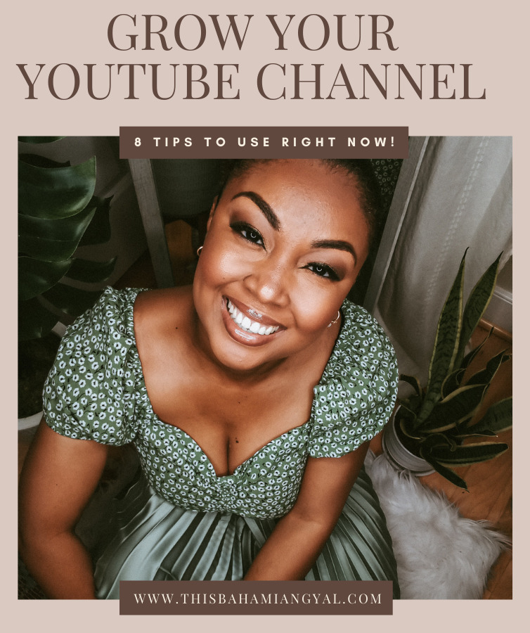Image of This Bahamian Gyal blogger, Rogan Smith posing and smiling for the camera while sitting on the floor.