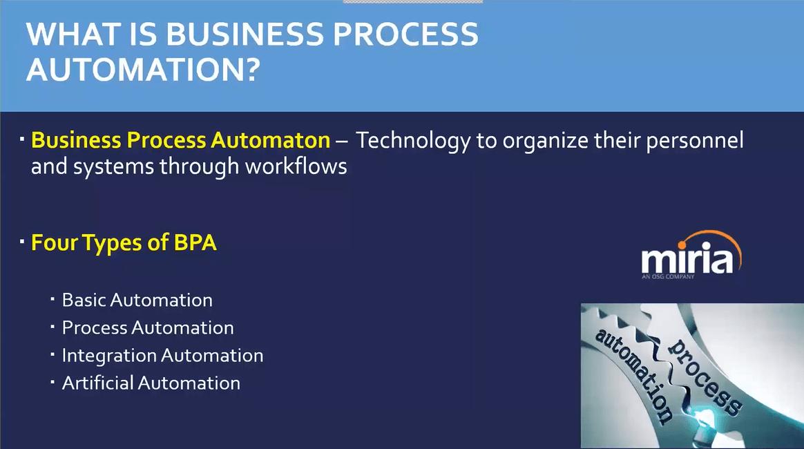 Business Process Automation Webinar Thumbnail
