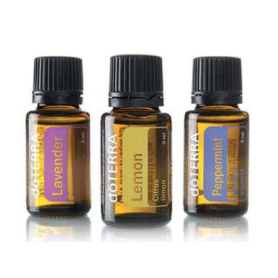 Lemon, Lavender & Peppermint Essential Oils