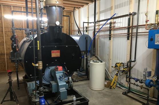 New Steam Plant
