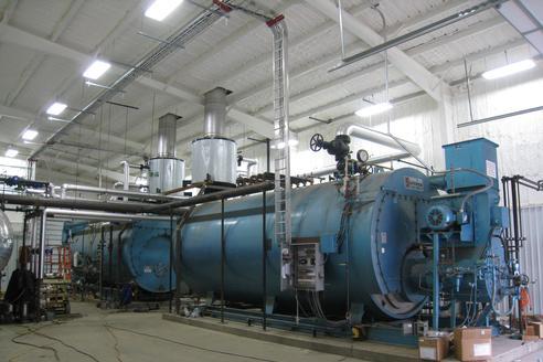 Nutri-Feeds Steam Plant
