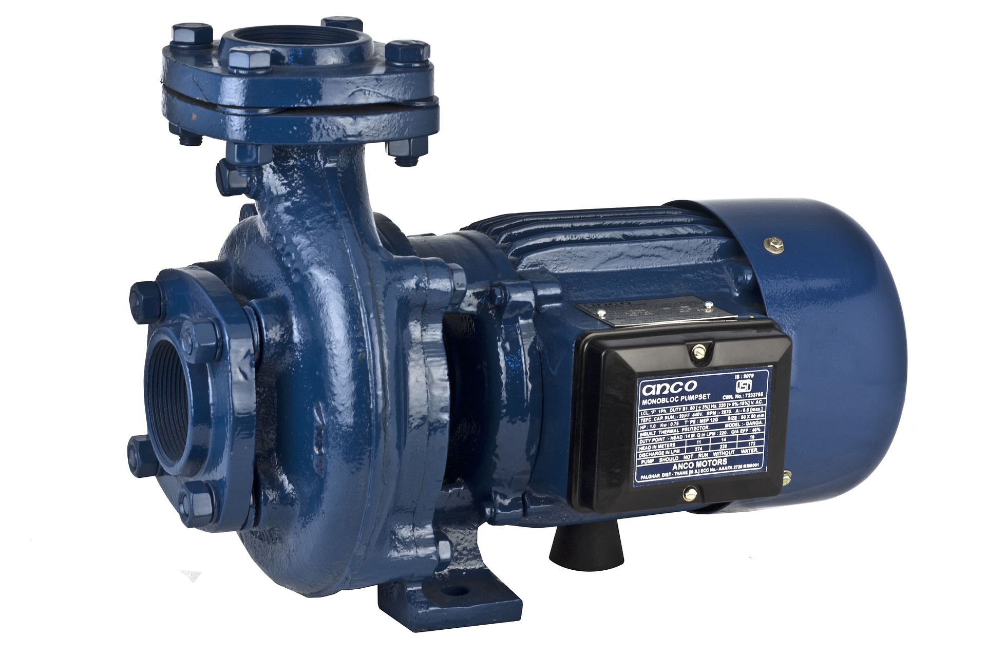 Blue Water Pump