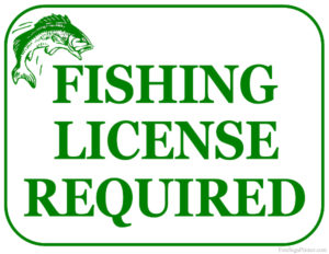 Florida fishing license sold at Scallop Cove Bait and Tackle in Cape San Blas