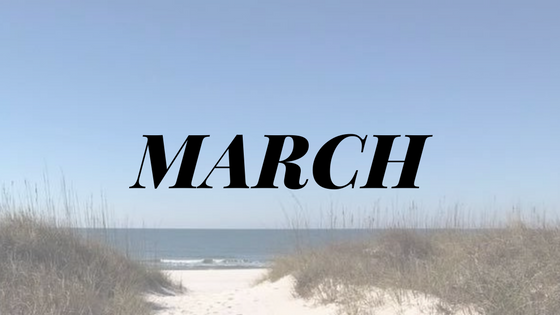 Things to do in March in Cape San Blas