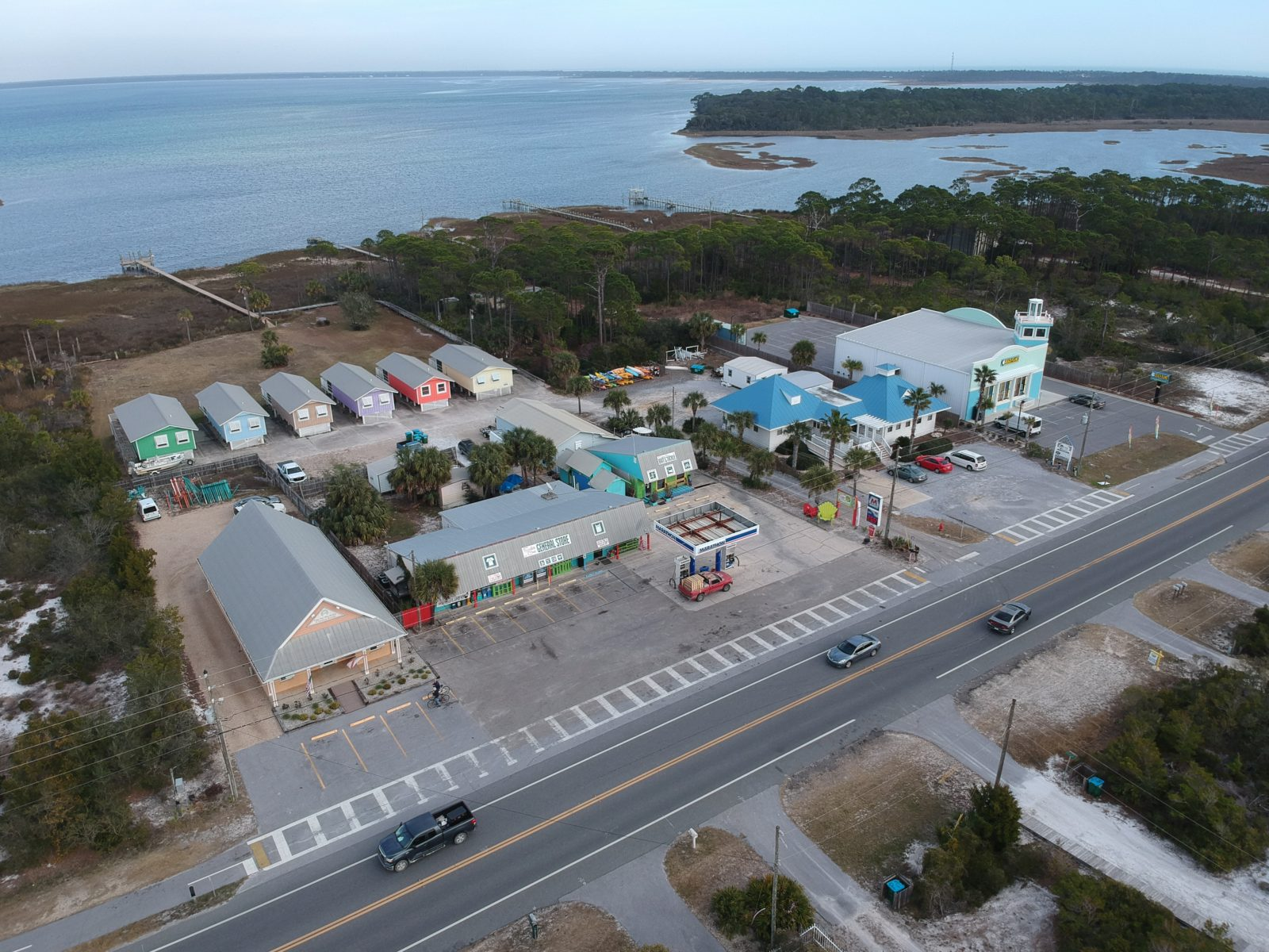Rental Villas behind Scallop Cove on Cape San Blas