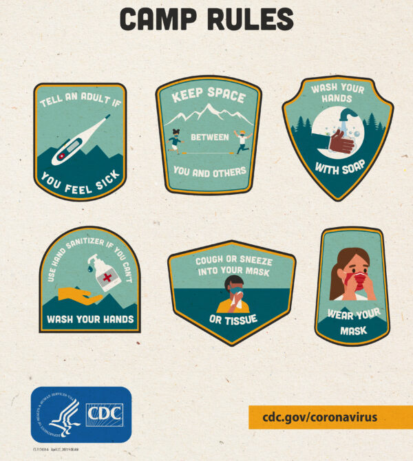 COVID19-camp-rules-summer-camp-poster