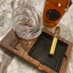 Cigar Bourbon Tray