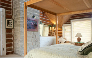 Hermitage master suite with a king bed