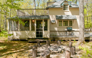 The Eagle's Nest is a private, two-bedroom cottage